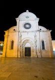 Catedral del St. Jacob en Sibenik Fotos de archivo
