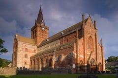 Catedral del St Magnus imagenes de archivo