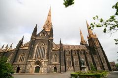 Catedral del St. Patrickâs, Australia Imagenes de archivo