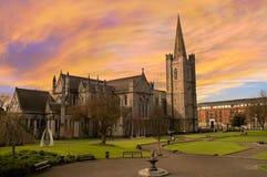 Catedral del St Patrick en Dublín, Irlanda fotografía de archivo