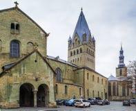 Catedral del St Patroclus, Soest, Alemania fotos de archivo