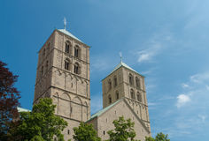 Catedral del St. Paulus en Munster Imagenes de archivo