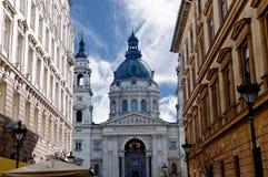 Catedral del St Stephans en Budapest Hungría Foto de archivo
