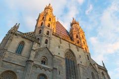 Catedral del St Stephen, Viena Foto de archivo
