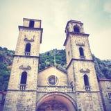 Catedral del St Tryphon en Kotor Fotos de archivo