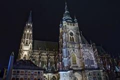 Catedral del St. Vitus Foto de archivo libre de regalías