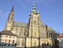 Catedral del St. Vitus Imágenes de archivo libres de regalías