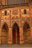 Catedral del St Vitus en Praga, República Checa Imagenes de archivo