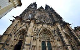 Catedral del St Vitus, Praga Fotografía de archivo