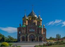 Catedral del St Vladimir Imágenes de archivo libres de regalías