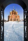 Catedral del St. Vladimir en Ucrania Foto de archivo