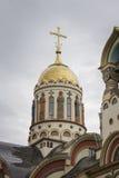 Catedral del St Vladimir s en Sochi, Rusia Fotografía de archivo