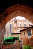 Catedral del Ste-Cecile en Albi Francia Fotos de archivo libres de regalías