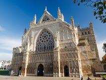 Catedral Devon England Reino Unido de Exeter Fotografía de archivo libre de regalías