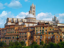 catedral di玛丽亚・圣诞老人 免版税库存照片
