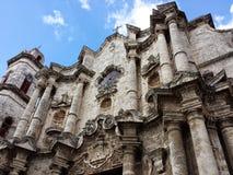 Catedral di Avana Fotografie Stock Libere da Diritti