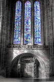 Catedral do anglicano de Liverpool Imagem de Stock