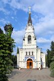 A catedral do arcanjo Michael do St em Sochi no sul Foto de Stock Royalty Free