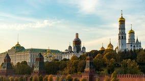 A catedral do arcanjo Parte externa do Kremlin moscow imagem de stock