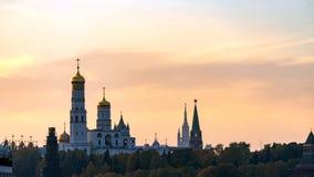 A catedral do arcanjo Parte externa do Kremlin moscow fotos de stock