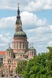 Catedral do aviso em Kharkiv, Ucrânia Fotografia de Stock