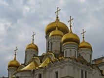 Catedral do aviso em Kremlin fotos de stock royalty free