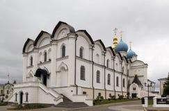 Catedral do aviso, Kazan imagens de stock