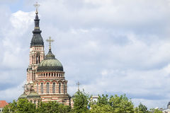 Catedral do aviso, Kharkiv fotografia de stock