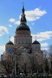 A catedral do aviso, Kharkov, Ucrânia Foto de Stock