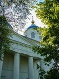 Catedral do aviso na cidade do russo da região de Meshchovsk Kaluga Foto de Stock