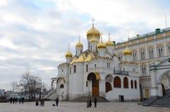 Catedral do aviso no Kremlin de Moscou Foto de Stock Royalty Free