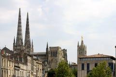 Catedral do Bordéus, France Fotografia de Stock Royalty Free