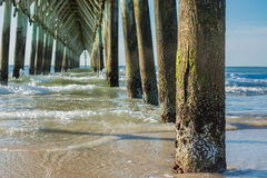 Catedral do cais da praia Foto de Stock Royalty Free