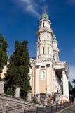 Catedral do Catholic grego imagens de stock royalty free