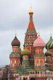 A catedral do de Vasily abençoado Imagens de Stock Royalty Free