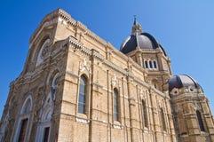 Catedral do domo de Cerignola. Puglia. Itália. fotografia de stock royalty free