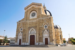 Catedral do domo de Cerignola. Puglia. Itália. Imagens de Stock