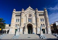 Catedral do domo de Reggio Calabria Imagens de Stock Royalty Free