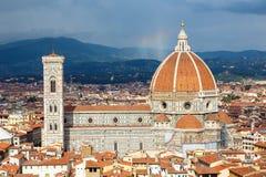 Catedral do domo em Florença fotos de stock royalty free
