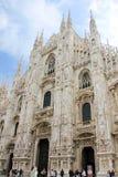 Catedral do domo em Milão Imagens de Stock