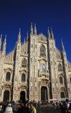 Catedral do domo em Milão, Italy Imagem de Stock