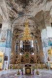 A catedral do esmagamento do século XIX em Uglich, Rússia Imagens de Stock