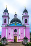 Catedral 01 do Espírito Santo de Chernivtsi foto de stock