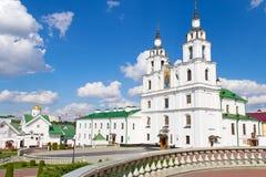 Catedral do Espírito Santo em Minsk. fotos de stock royalty free