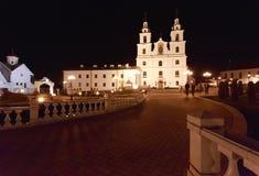 A catedral do Espírito Santo em Minsk, Bielorrússia fotografia de stock royalty free