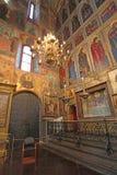 A catedral do interior da suposição, Kremlin de Moscou Fotografia de Stock Royalty Free