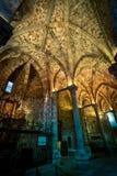 Catedral do interior de Avila, Espanha Imagem de Stock
