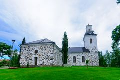 Catedral do Lutheran, em Kuopio Foto de Stock
