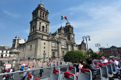 Catedral do metropolita de Cidade do México Imagens de Stock