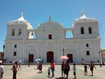 Catedral do ³ n de Leà Imagens de Stock Royalty Free